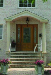 Entry residential doors