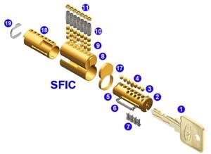 Interchangeable Core (IC) Cylinders