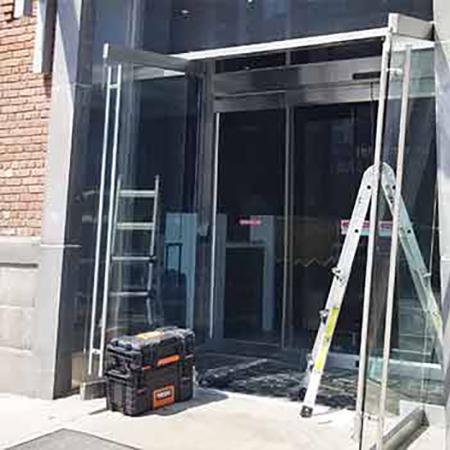 commercial door repair Brooklyn,door repair,glass doors,glass door repair,glass door installation,glass door repair near me,glass doors Brooklyn,glass front door closer,